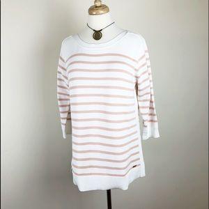 Calvin Klein Cotton Sweater Stiped NWT